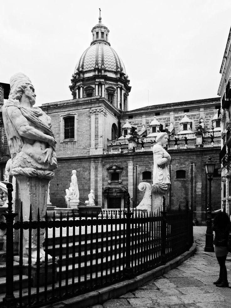 Piazza Pretoria, Palermo - Sicily by Max Tuguese