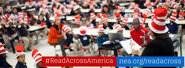 Want to show your support for Read Across America on Facebook? Use this cover image!