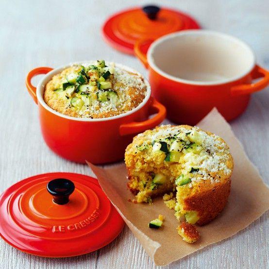 Zucchini Corn Bread with Garlic Butter - Le Creuset Recipes