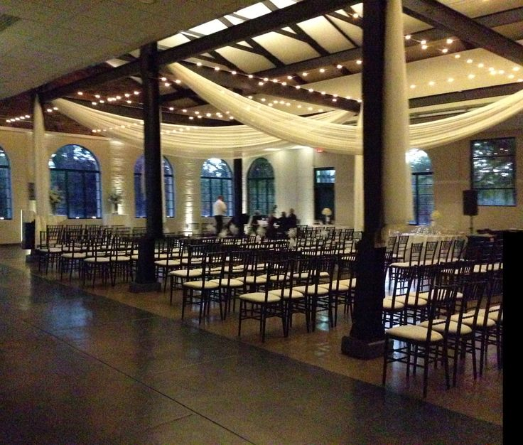 Wedding Venues In St Louis Mo: Wedding Ceremony At The Visitor Center In Forest Park. The