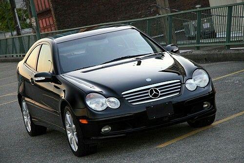 Mercedes sportcoupe 2003