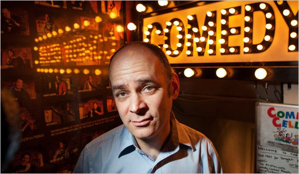 One of the best, and not trying at all. Todd Barry