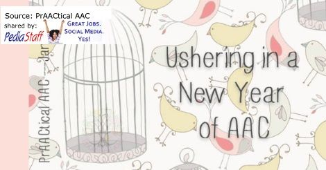 AAC Corner: Ushering in a New Year of AAC  - repinned by @PediaStaff – Please Visit ht.ly/63sNtfor all our pediatric therapy pins