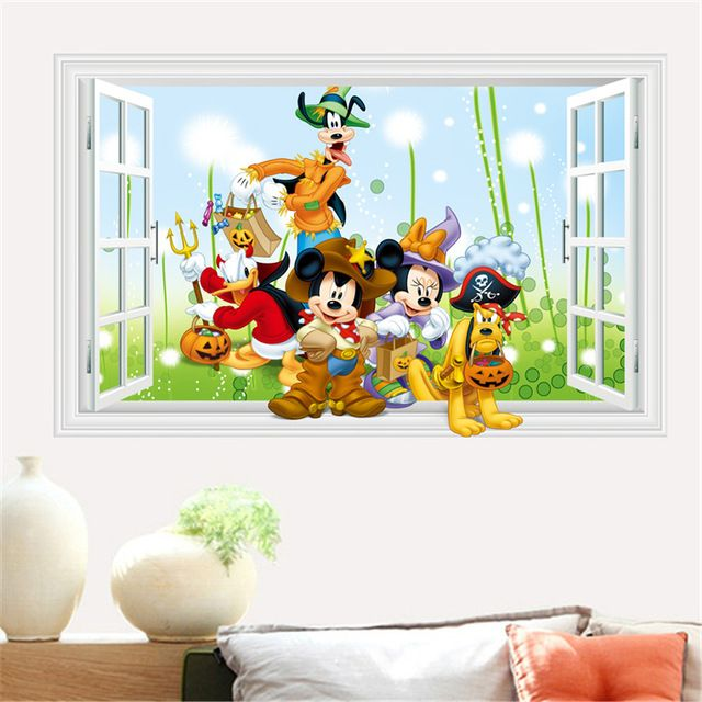 More Designs Mickey Mouse Clubhouse Minnie Wall Sticker Removable Vinyl Art Wall Decals Baby Nursery Room De Nursery Room Decal Vinyl Wall Art Sticker Wall Art