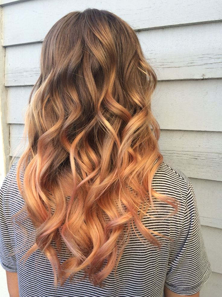 17 best ideas about peach hair on pinterest peach hair
