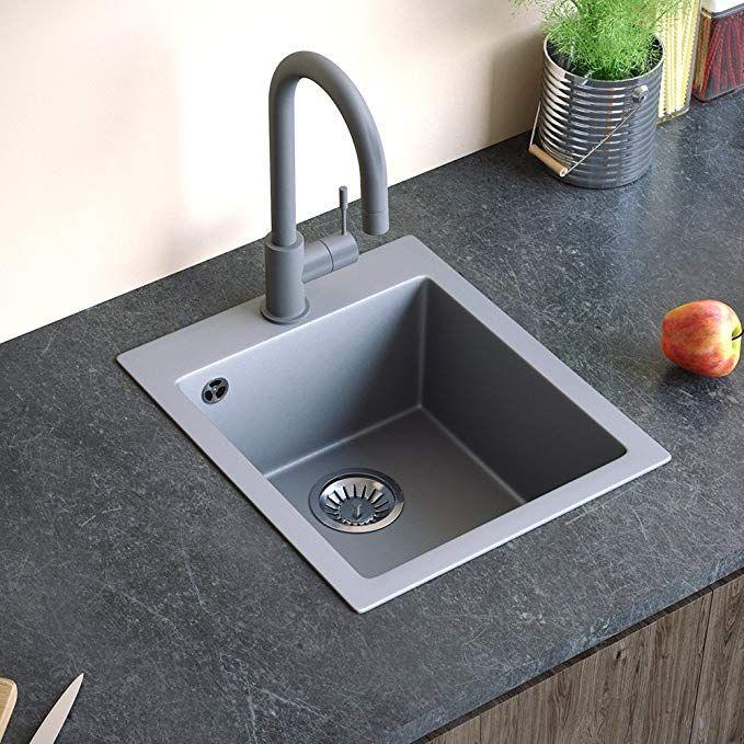 Spüle Granit Verbundspüle Küchenspüle Einbauspüle Auflage ...