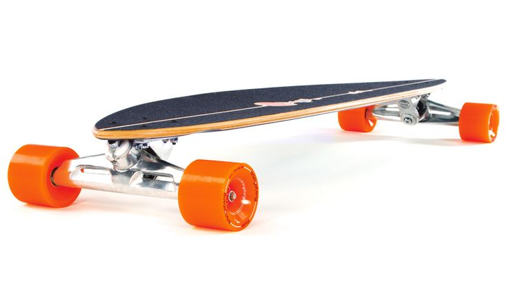 Longboard-Life: The Classic with a Twist -- Original Pintail 40 Review
