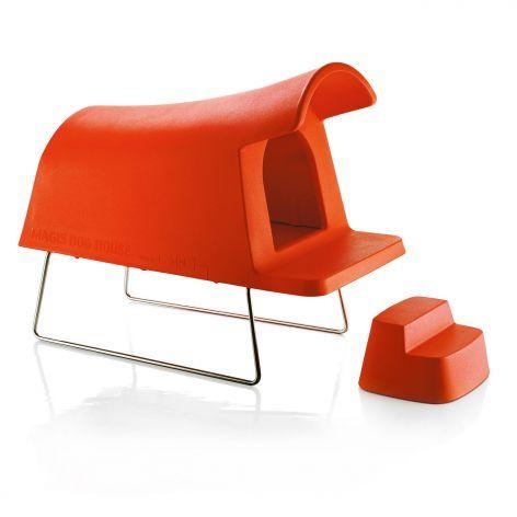 Magis Hundehütte Dog House, orange #Magis #artvoll #TopMarke www - asymmetrischer stuhl casamania