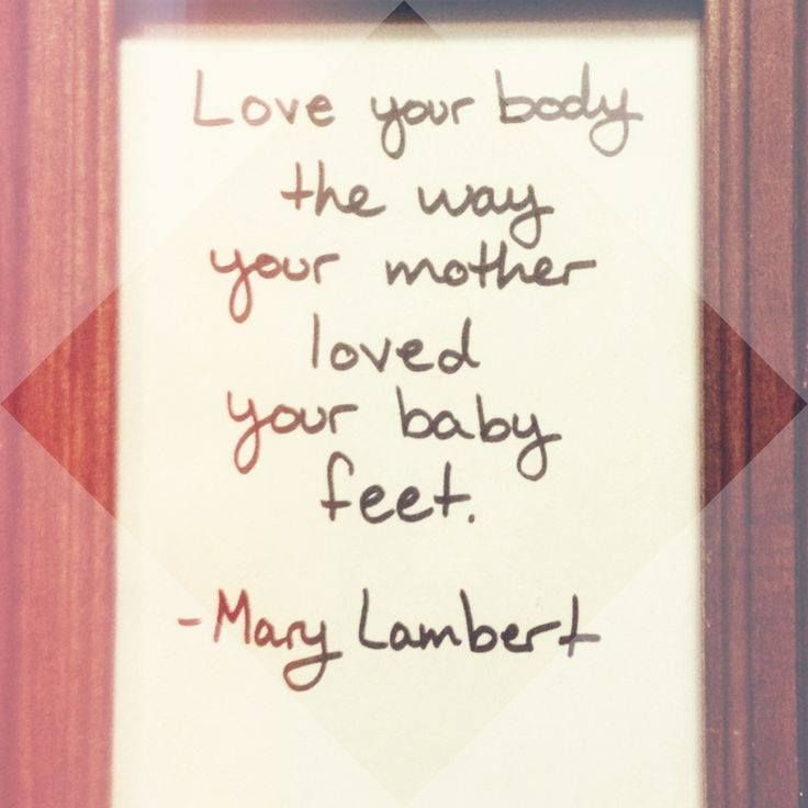 Love Your Body Quotes: 25+ Best Ideas About Mary Lambert On Pinterest