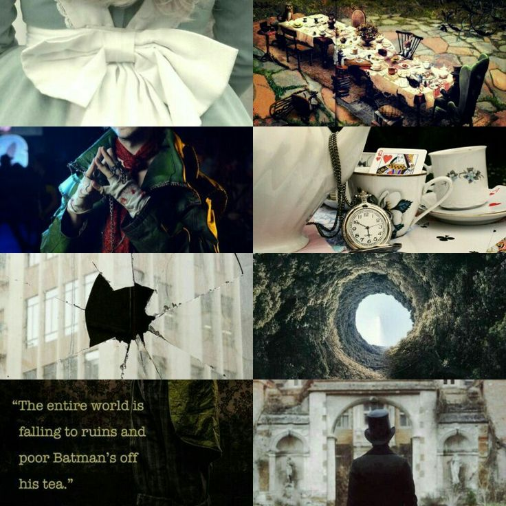 Jervis Tetch Mad Hatter aesthetic
