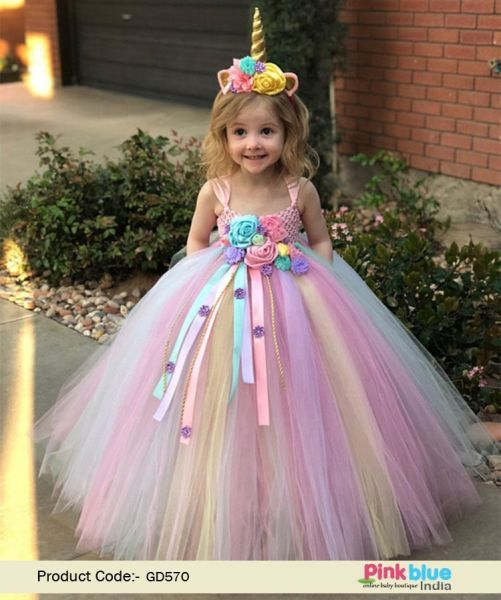 850fc62abec4b First Birthday Unicorn Dress - 1st Birthday Unicorn Costume - Flower Girl  Party Tutu Dress