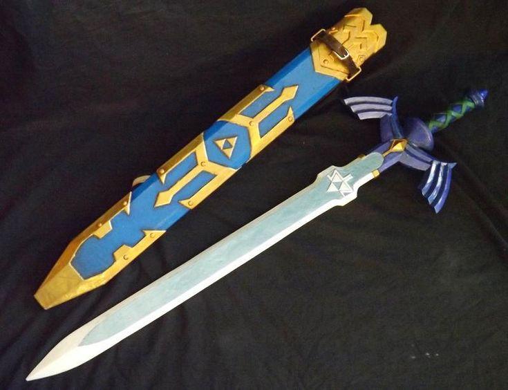 Réplica de Espada Mestra Zelda