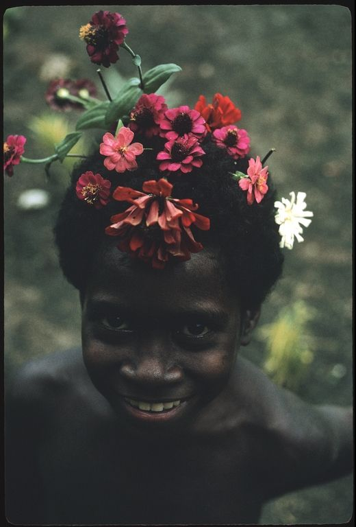 Solomon Islands in the 1970s. Photograph by Roger Keesing