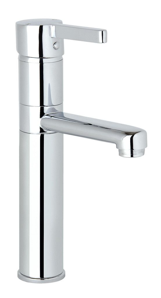 A clever idea: the basin mixer tap with swivelling spout by Ramtaps. Adero Swivel Basin Mixer (tall) #basin-mixer #bathroom #mixers
