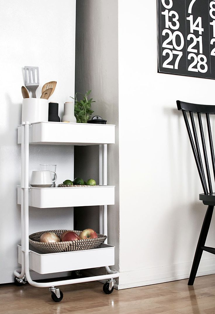 1307 best organize it images on pinterest craft rooms storage 3 ways to use a cart in the home