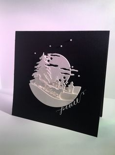 IC567 - Christmas Moon by girlgeek101 - Cards and Paper Crafts at Splitcoaststampers