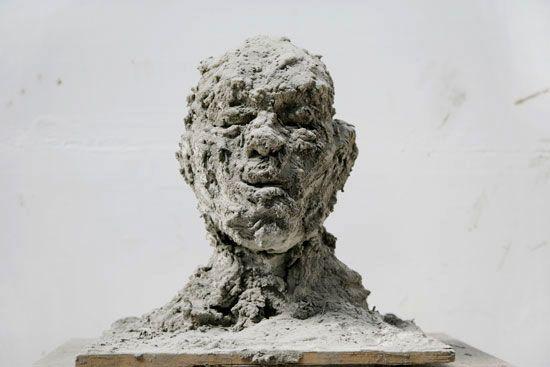 Zhang Huan / Ash Head Series