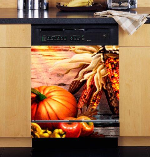 Thanksgiving Fall Harvest Dishwasher Cover Fall Harvest