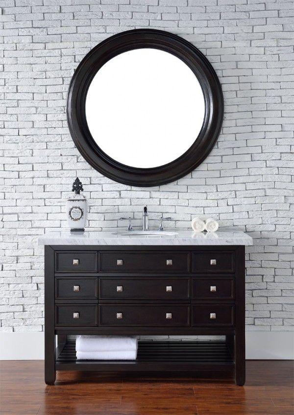 Die besten 25 waschtisch 120 cm ideen auf pinterest - Badezimmermobel dunkelbraun ...