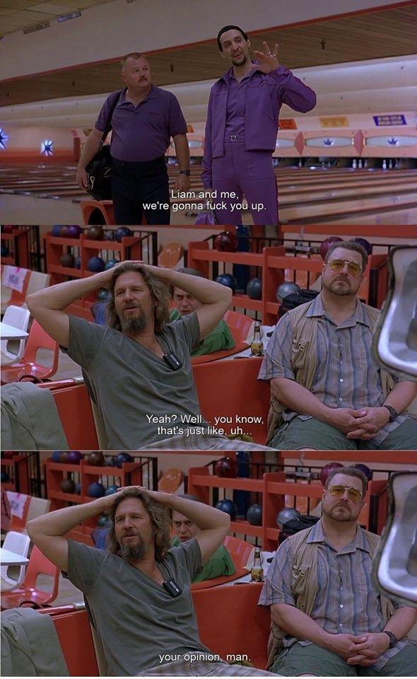 The Big Lebowski 1998 The Big Lebowski Best Movie Lines Big Lebowski Quotes