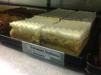 caramel sultana square