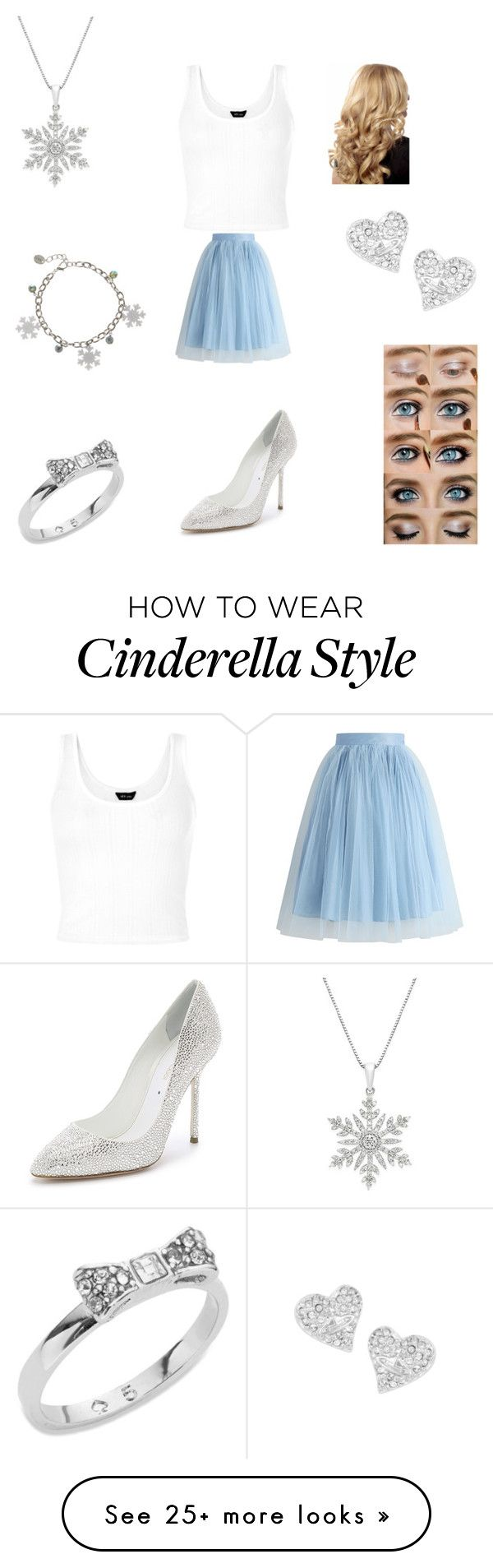 """Modern Cinderella"" by misty-rebellion on Polyvore featuring Chicwish, Sergio Rossi, Vivienne Westwood, Kate Spade and modern"