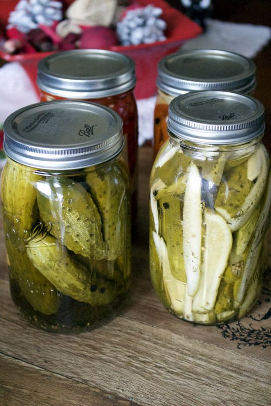 Pickled Cucumbers In Vinegar- Easy Recipe- Inspired from Romanian recipes for pickling vegetables- Romanians have a long tradition of preserving foods for the winter and this is my version of preserving cucumbers in vinegar- They are sour, crispy and if stored in cool temperatures, they last the whole entire winter. Consume them in salads, next to your favorite roasted meats or sandwiches.
