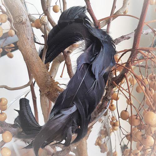 'Birds of a Feather' Padded Velvet Headband  www.madewithlovebybee.com