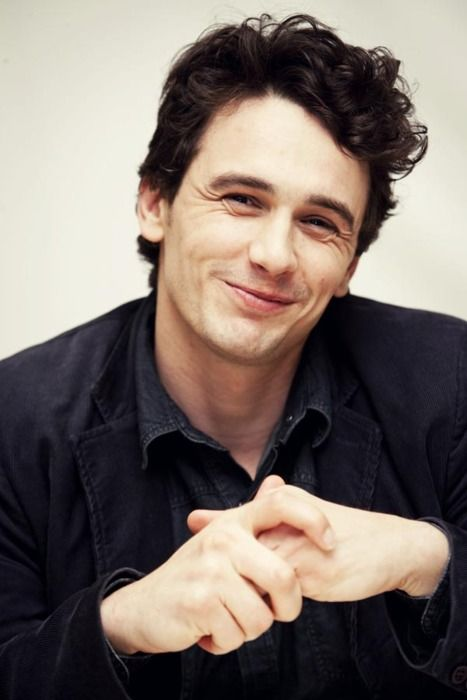 James Franco... Look at that smile! :) Adorable
