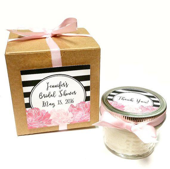 25 Bridal Shower Favors | Wedding Favors | Candle Favor | Wedding Favor Candle | Bridal Candle | Baby Shower Gift | Rustic Wedding Favor