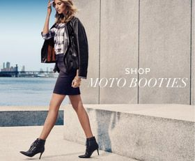 Moto Booties Nine West AW2015 (USA)