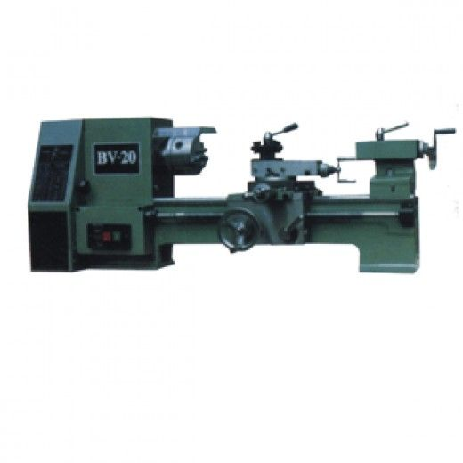 A small lathe like this is very useful in an auto repair shop.