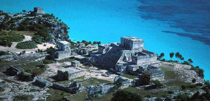 On the Caribbean, Tulum was a prosperous Mayan port. Visit theTemple of the Descending God, the Castillo, and the Temple of the Frescoes and more.