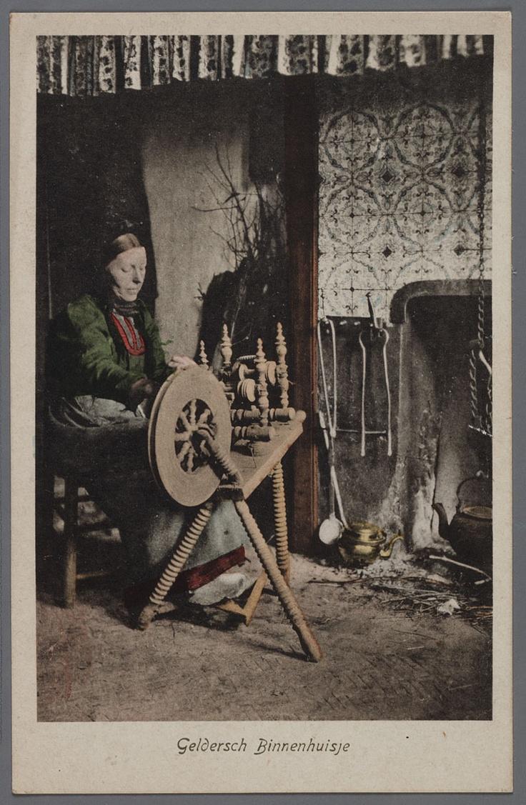 Oude ambachten - Gelders binnenhuisje 1910-1020