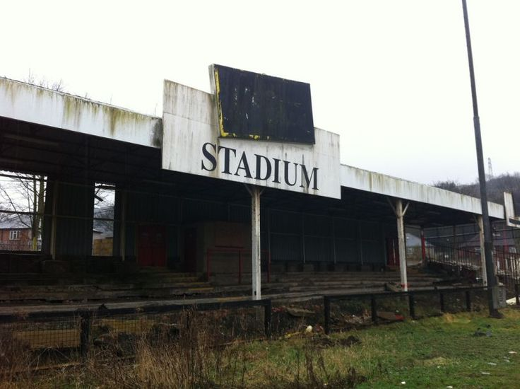 The McCain Stadium on Seamer Road was home to Scarborough FC until 2007, when the abandoned football stadium was left to rot prior to demolition.