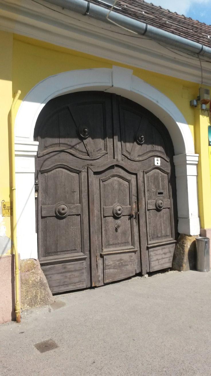 old door in Vác