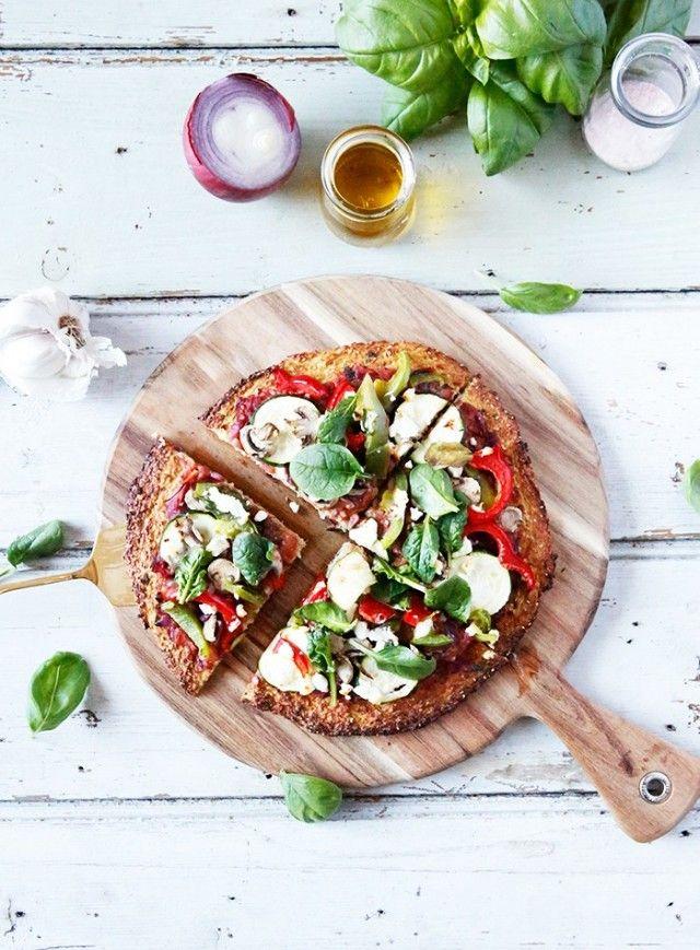 Paleo Cauliflower Pizza