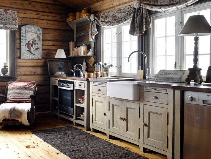 Сказочный дом в снежной Норвегии