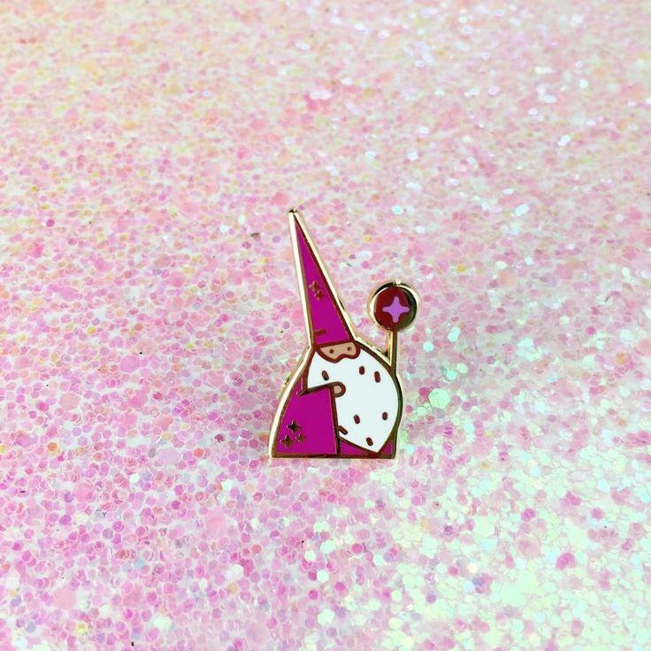Little Wizard Pin