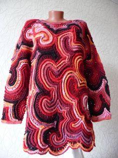 Irish crochet &: 2 туники от Елены Сидельниковой