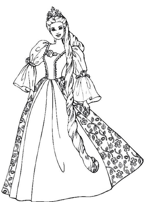 Ausmalbilder Prinzessin 777 Malvorlage Alle Ausmalbilder Kostenlos