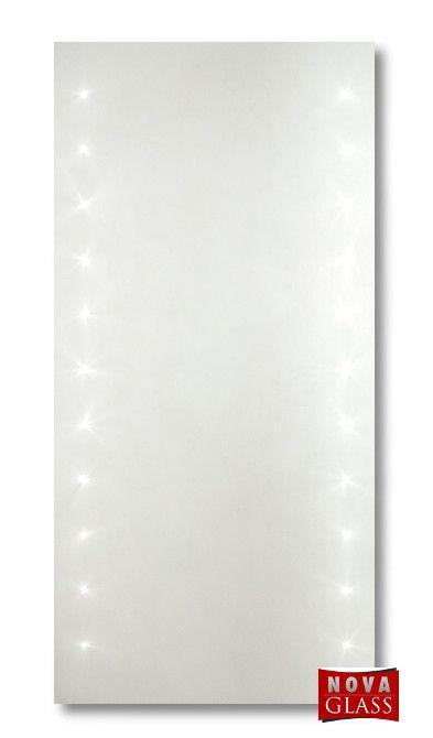 Καθρέπτης μπάνιου φωτιζόμενος αριστερά και δεξιά με led Νο 269