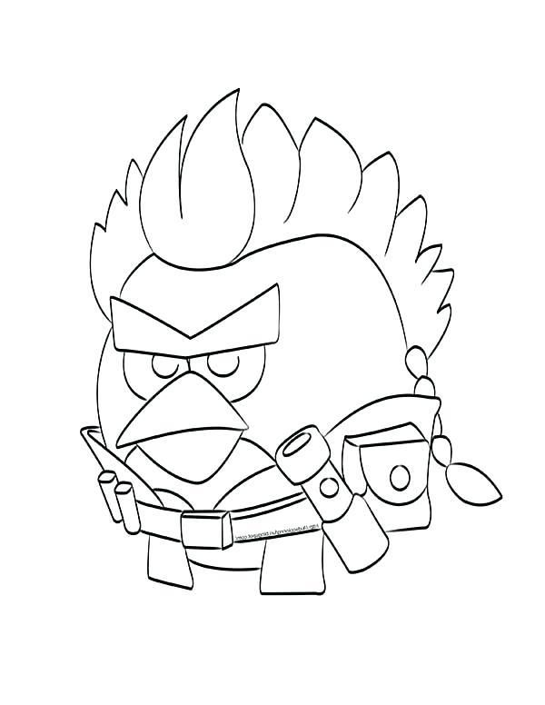 Angry Birds Coloring Pages For Learning Colors Angry Birds Coloring