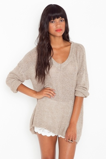 Brandy & Melville sweater, so soft!