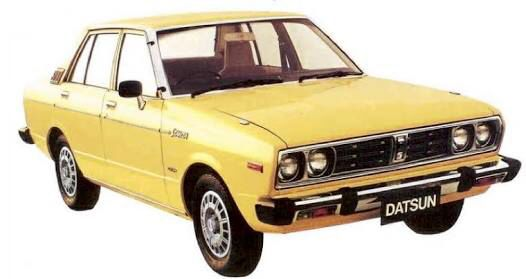 1980 Datsun stanza sss. Dad had 2 of these.