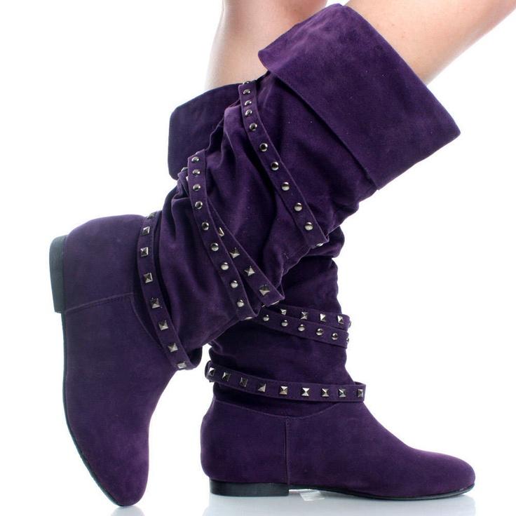 Knee High Fashion Flat Boots