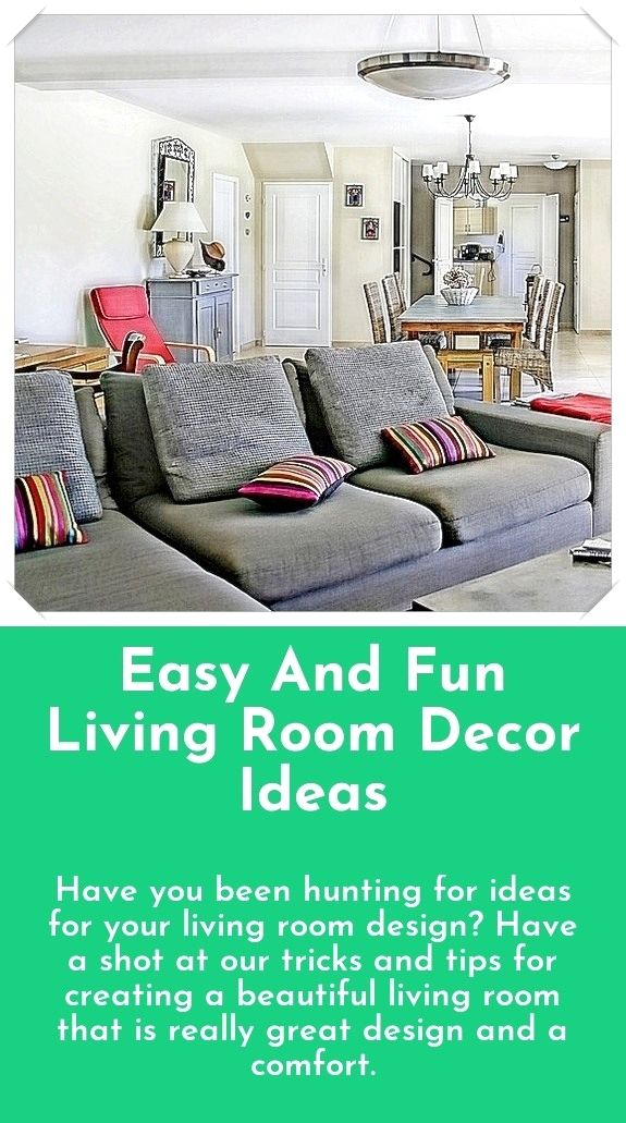 Simple living room decor and design tips - Are you looking for ideas