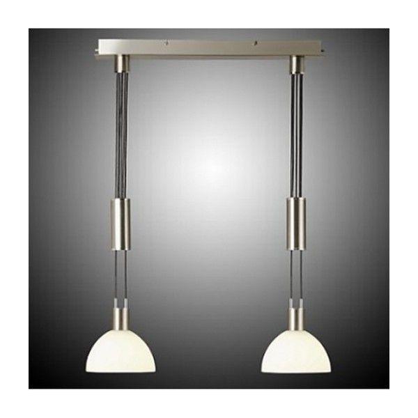 BRILLIANT AMIRA E14 PE2  Lampen Amira skiller se gut med vakre hengende lamper og en overflate av jern og krom. Spisebord ville passet perfekt.