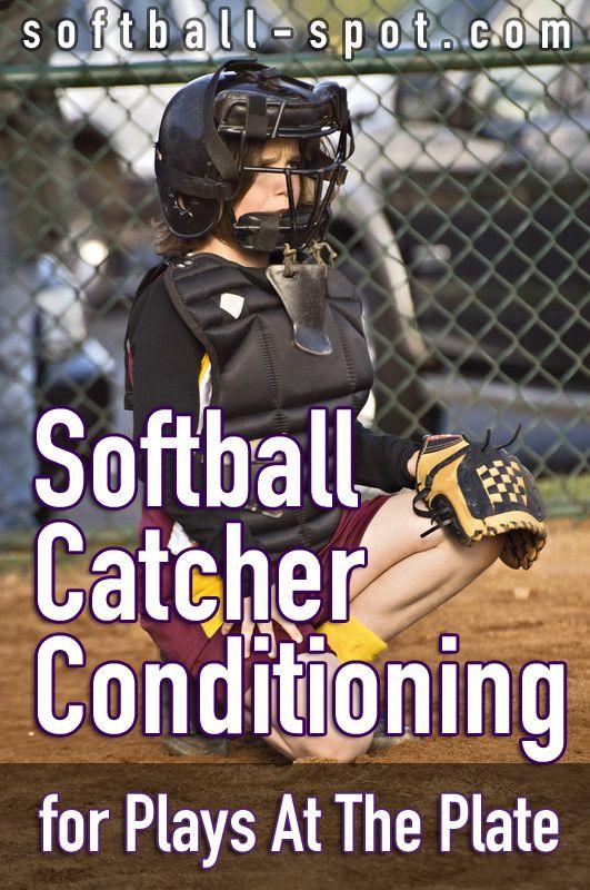 softball catcher conditioning