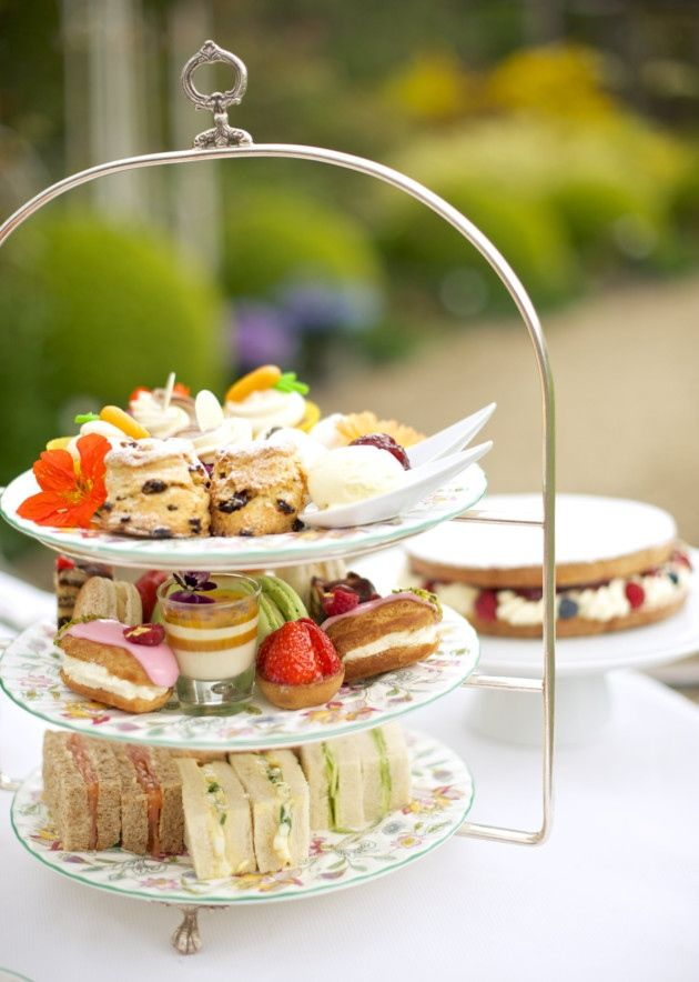Steve Titman, Executive Chef at Summer Lodge, shares his classic English afternoon tea recipes as well as some new ones including feather-light macaroons and a creamy pannacotta